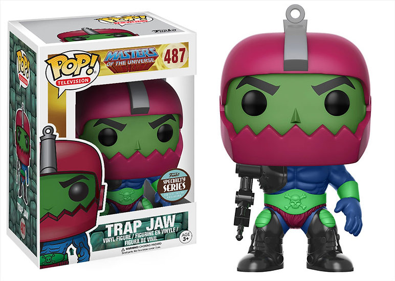 Pop! Trap Jaw Specialty Series