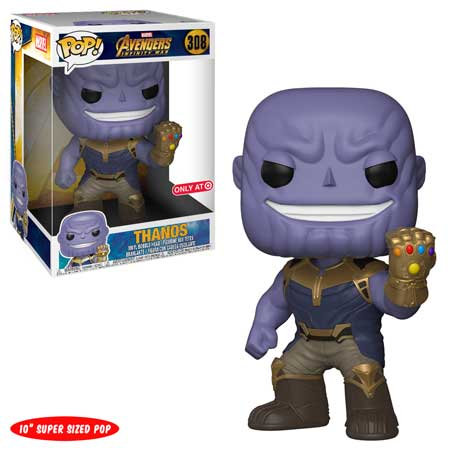 "Pop! Marvel Thanos Infinity War 10"" Target"