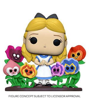 Pre-Order Pop! Alice in Wonderland 70th Anniversary-Alice w/ Flowers