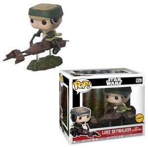 Pop! Luke Skywalker with Speeder Bike Chase