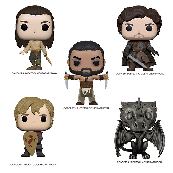 Pre-Order Pop! Game of Thrones Iron Anniversary Bundle