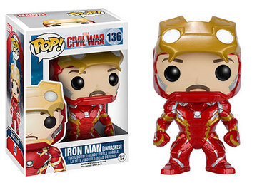 Pop! Marvel Iron Man Unmasked Hot Topic