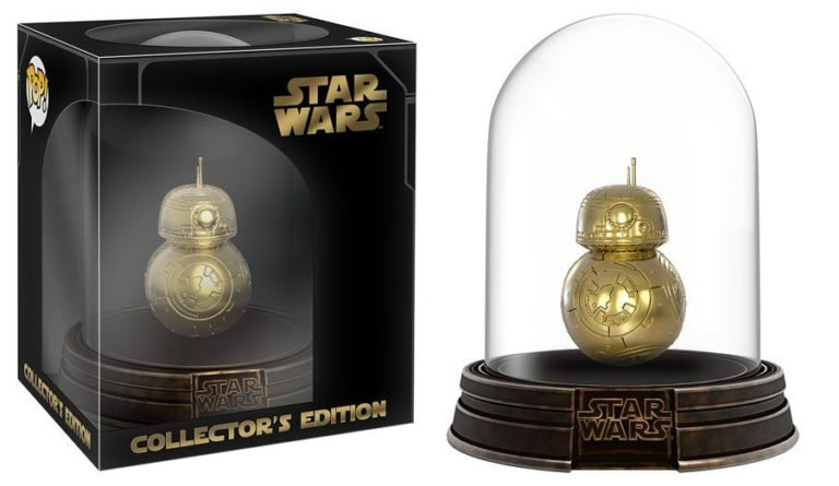 Pop! Collectors Edition BB-8 Gold Chrome in Dome