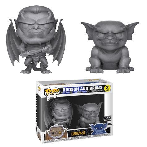 Pop! Gargoyles Hudson and Bronx