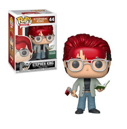 Pop! Stephen King with Axe and Book Barnes and Noble