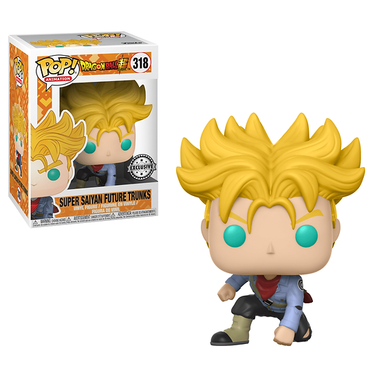 Pop! DBZ Super Saiyan Future Trunks Hot Topic