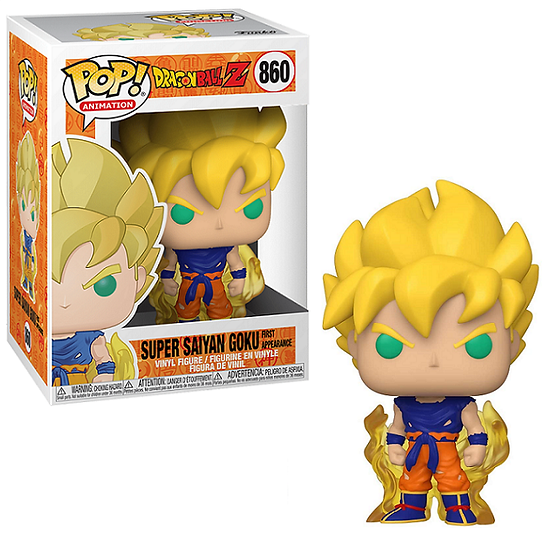 Pop! DBZ Super Saiyan Goku First Appearance