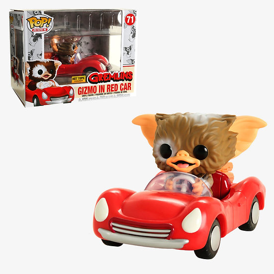 Pop! Gizmo in Red Car Hot Topic