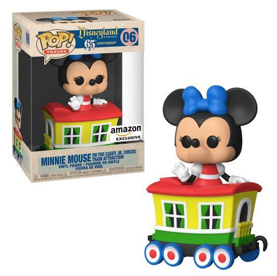 Pop! Minnie Mouse on the Casey Jr. Circus Train Attraction Amazon