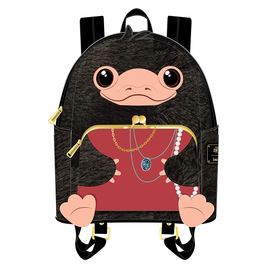 Pre-Order Loungefly Niffler Plush Cosplay Mini Backpack