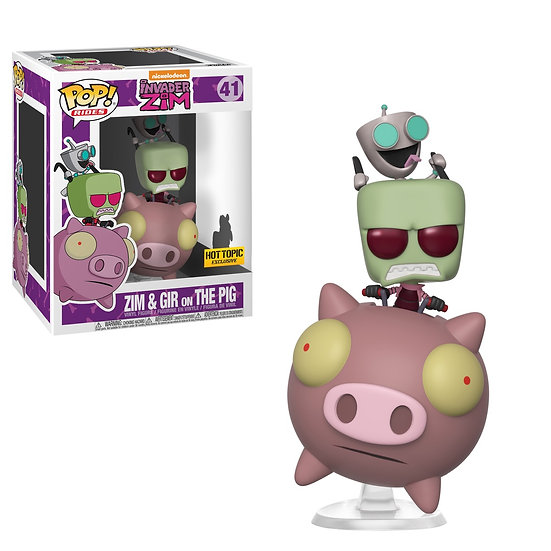 Pop! Zim & Gir on The Pig