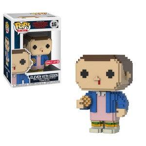Pop! Eleven with Eggos 8 bit Target