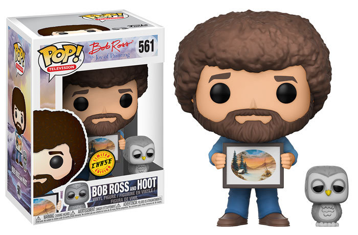 Pop! Bob Ross and Hoot Chase