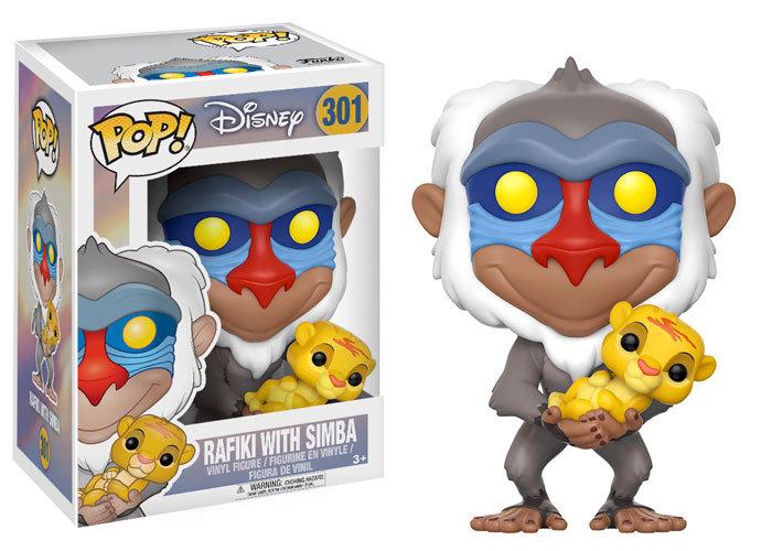 Pop! Disney Rafiki With Simba
