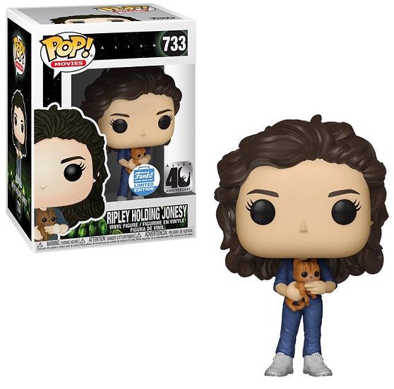 Pop! Alien Ripley Holding Jonesy Funko Shop