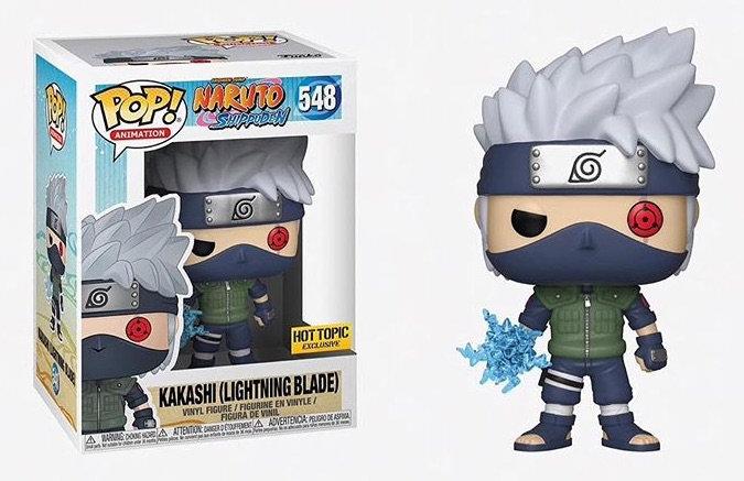 Pop! Kakashi (Lightning Blade) Hot Topic