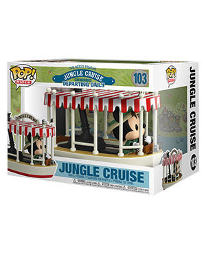 Pre-Order Pop! Jungle Cruise - Mickey with Boat