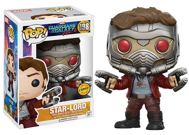 Pop! Marvel Star Lord Chase