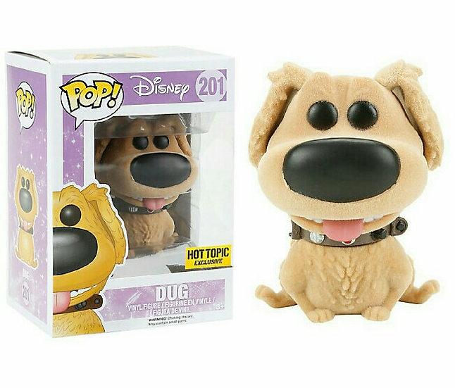 Pop! Disney - Dug Hot Topic Flocked