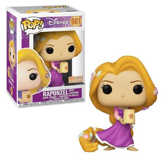 Pop! Disney Rapunzel with Lantern Boxlunch