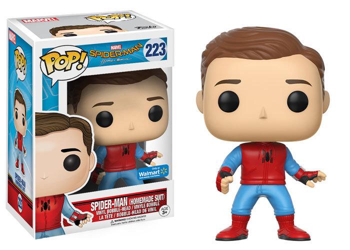 Pop! Marvel Spider Man (Homemade Suit) Walmart