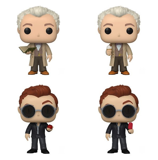 Pre-Order Pop! Good Omens Aziraphale and Crowley Chase Bundle