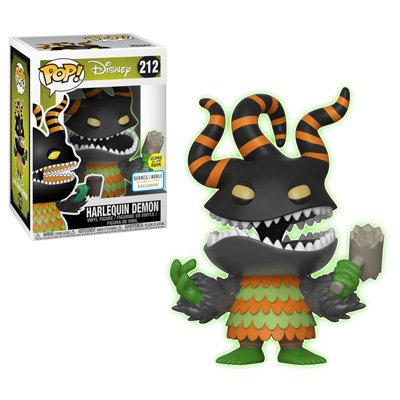 Pop! NBC Harlequinn Demon Barnes and Noble Glow in the Dark