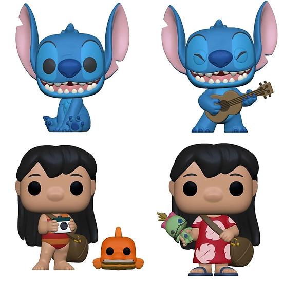 Pre-Order Pop! Lilo and Stitch-4pc Bundle