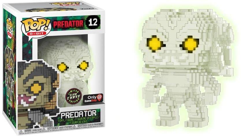 Pop! Predator 8bit Chase Gamestop