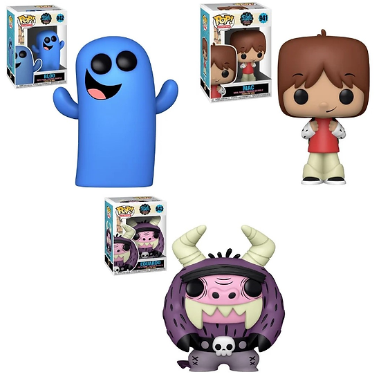 Pre-Order Pop! Fosters Home for Imaginary Friends 3pc Bundle