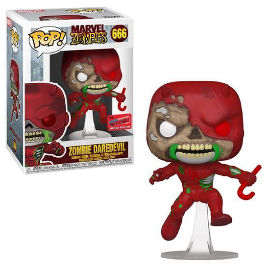 Pop! Marvel Zombie Daredevil NYCC