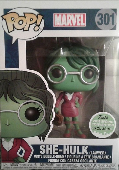 Pop! Marvel She-Hulk (Spring)