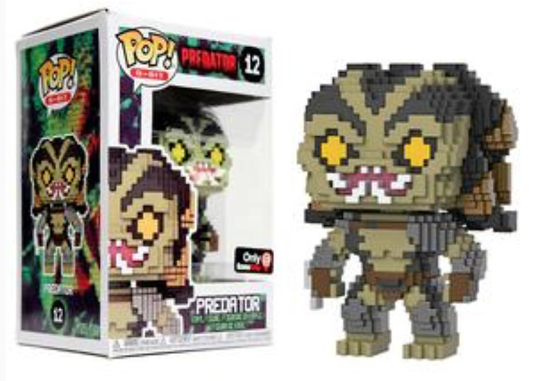 Pop! Predator 8bit Gamestop