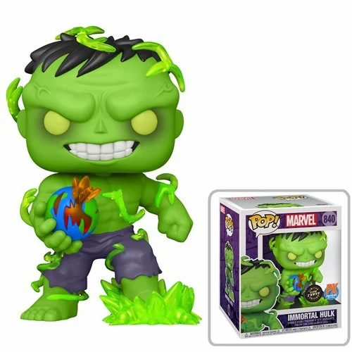 """Pre-Order Pop! Marvel Immortal Hulk PX 6"""" Chance at Chase"""