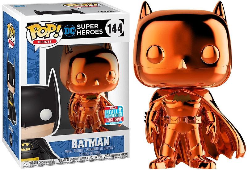 Pop! Batman (Orange Chrome) (Fall)