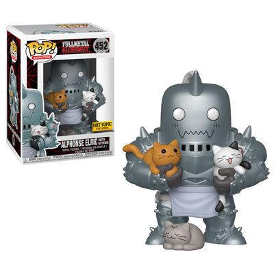 Pop! Alphonse Elric (With Kittens) Hot Topic