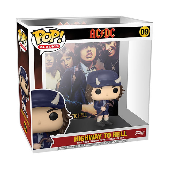 Pre-Order Pop! Album AC DC - Highway to Hell