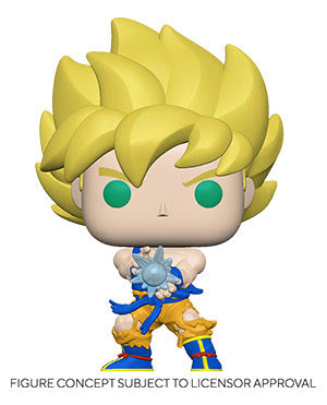 Pre-Order Pop! DBZ S9 Goku w/ Kamehameha Wave