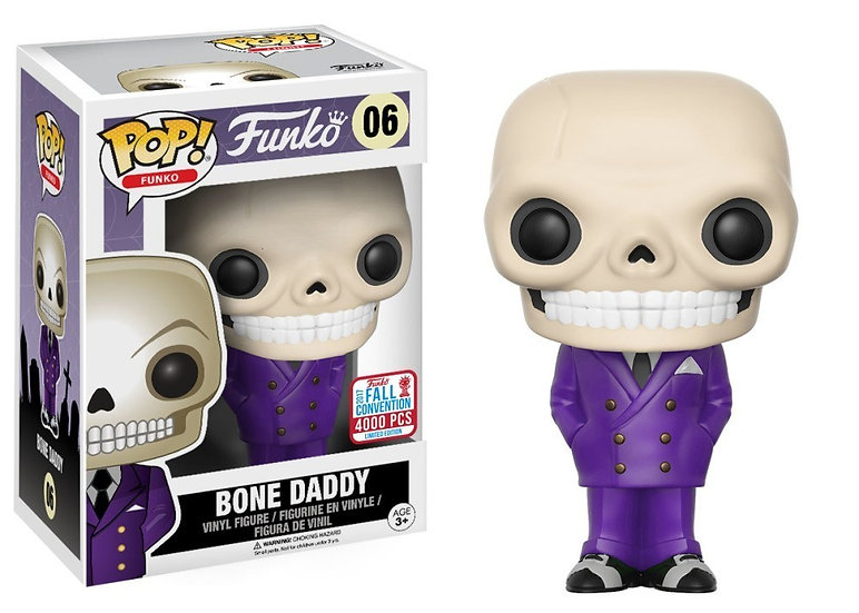 Pop! Bone Daddy Funko Shop Fall LE4000