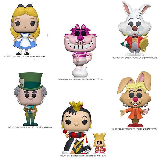 Pre-Order Pop! Alice in Wonderland 70th Anniversary-6pc Bundle