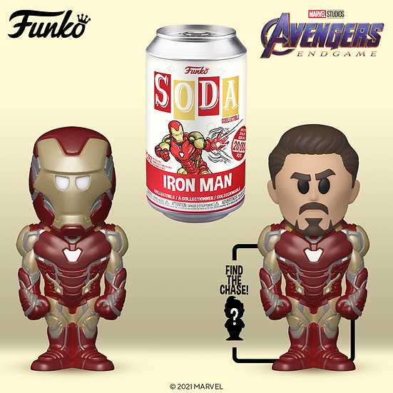 Pre-Order Soda Vinyl Iron Man LE20000