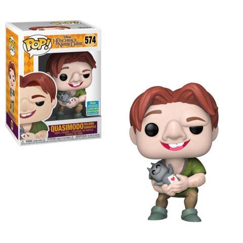 Pop! Disney Quasimodo Holding Gargoyle (Summer)