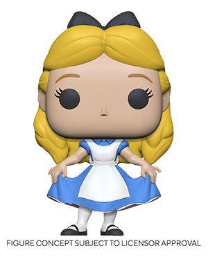 Pre-Order Pop! Alice in Wonderland 70th Anniversary-Alice Curtsying