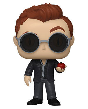 Pre-Order Pop! Good Omens Crowley with Apple