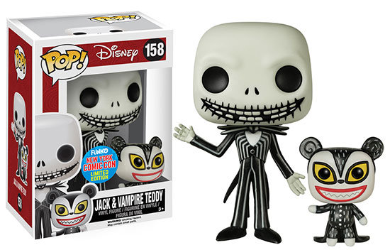 Pop! NBC Jack and Vampire Teddy NYCC