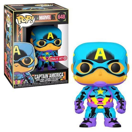 Pop! Captain America Target Black Light