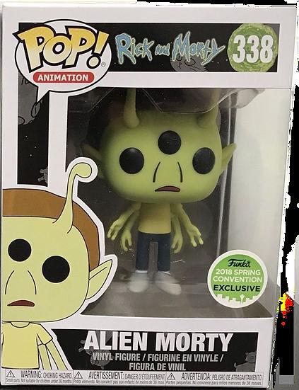 Pop! Alien Morty (Spring)