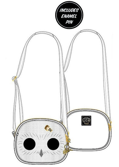 Pre-Order Loungefly Hedwig Pin Trader Crossbody