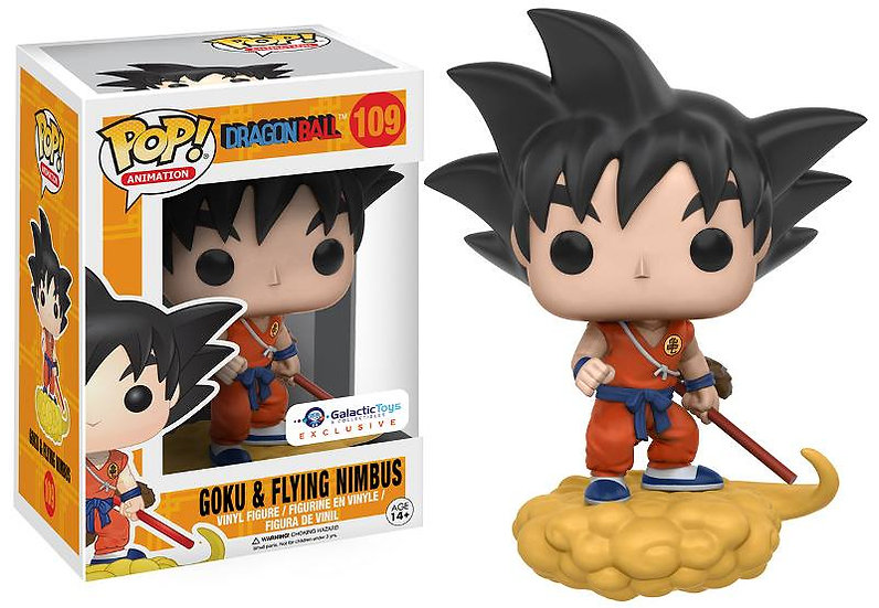 Pop! Dragon Ball Goku and Flying Nimbus Galactic Toys