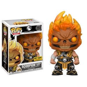 Pop! Mortal Kombat Scorpion Flaming Skull